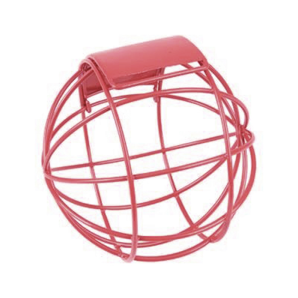 red snack ball for rabbits