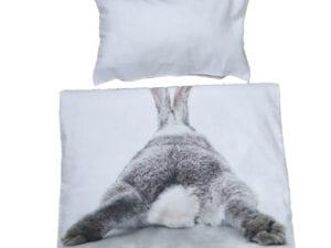 front rabbit butt bedding