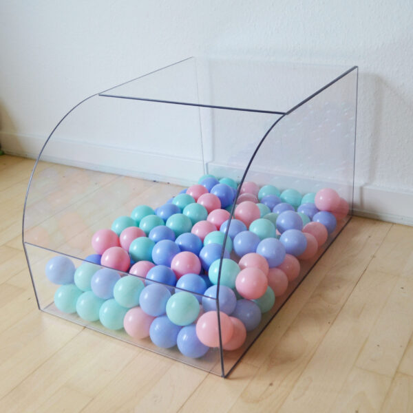 ball pit for rabbit pink blue