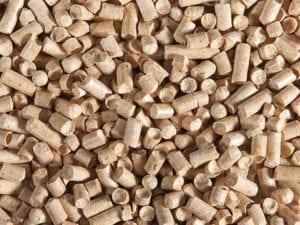 sprinkle wood pellets
