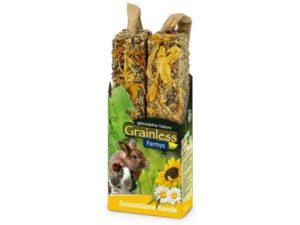 Grainless solsikke kamille - kanin godbider med blomster og frø