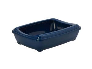 blue little litter tray rabbit toilet