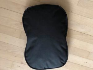 brown oval waterproof pillow for smaller animals