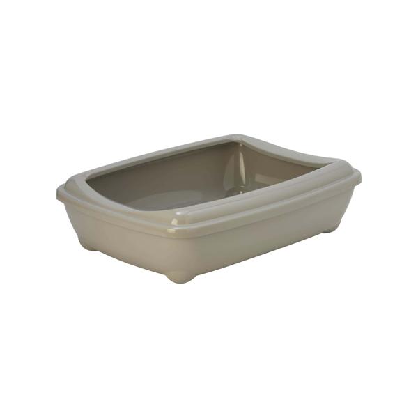 grey smaller litter tray rabbit toilet