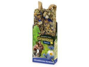 grainless magurit og kornblomst kaninsnacks stænger