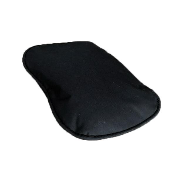 oval waterproof pillow - black