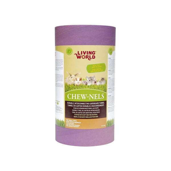 purple large cardboard tube for rabbits