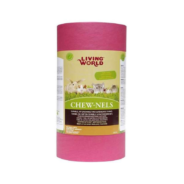 pink medium cardboard tube for rodent