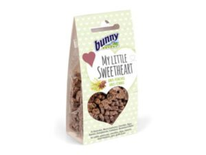 small heart treats for rabbits with fennel and anise