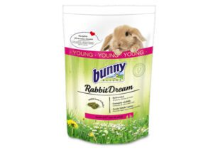 bunny nature rabbit food junior for young rabbits - rabbit pills with many grass species and herbs - healthy feed without wheat, cereals and soy