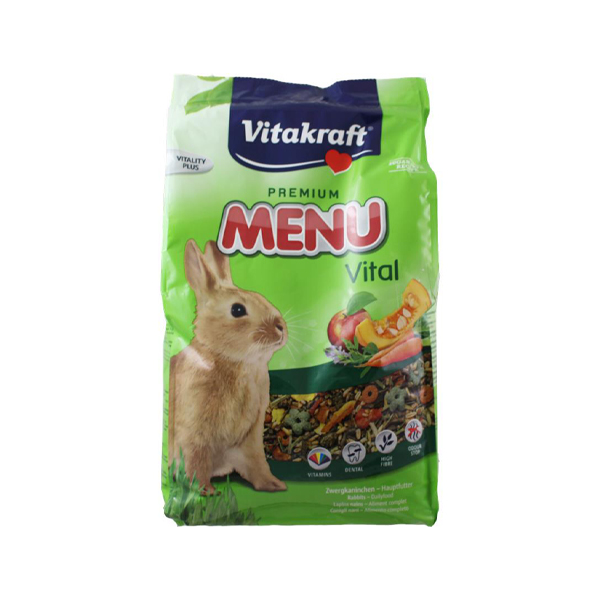 Feed pellets vitakraft vital dwarf rabbit