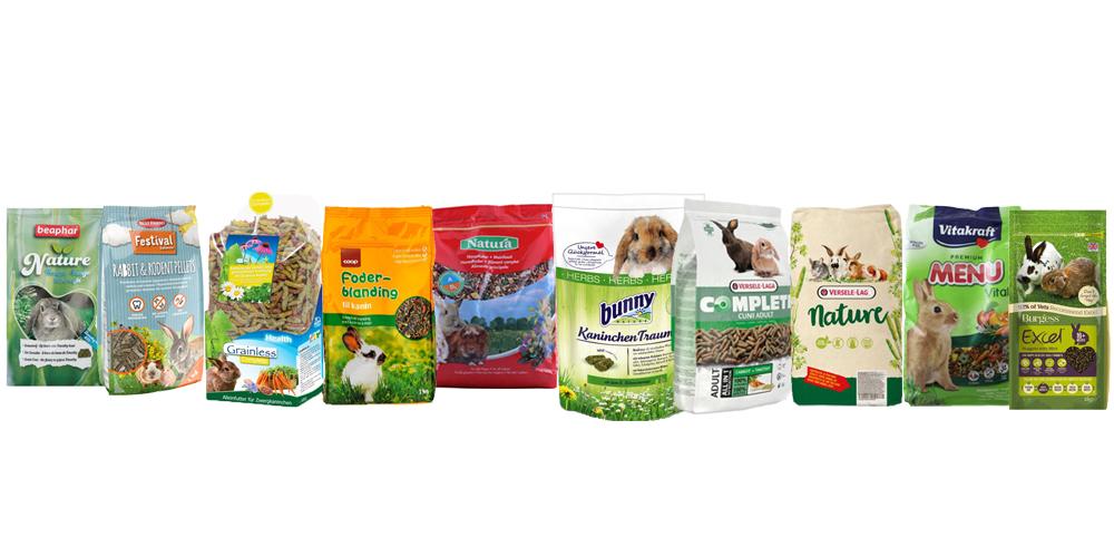 Rabbit Feed Pellet Ingredients