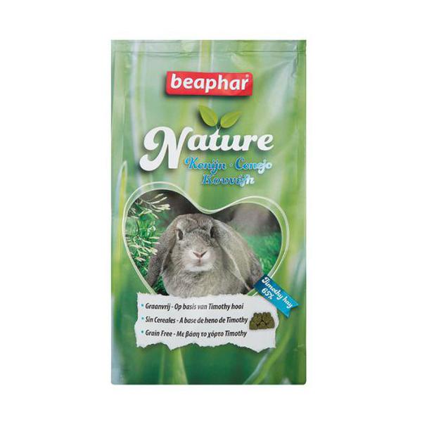 feed for rabbit beaphar nature