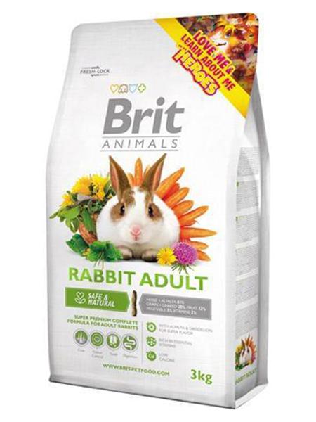 rabbit feed test Brit rabbit food