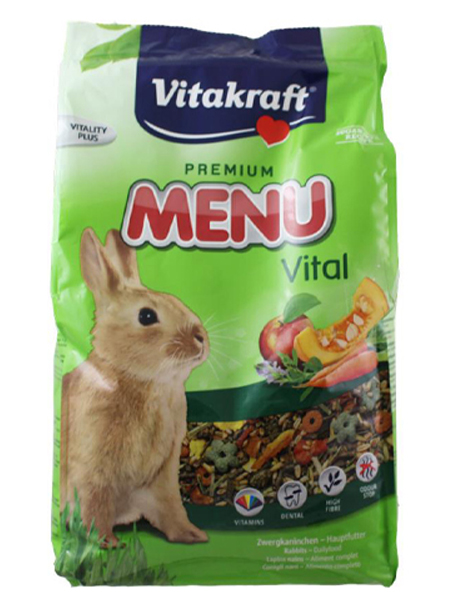 rabbit feed test vitakraft menu rabbit feed