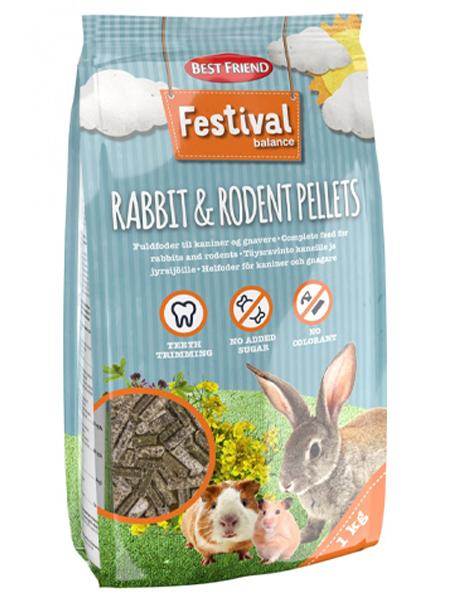 rabbit feed test best friend festival feed pills