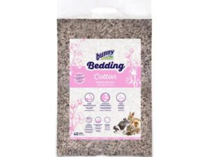 Bunny Nature Cotton Bedding for Rabbits is a natural rabbit toilet bedding. Absorbent and soft bedding for rabbit