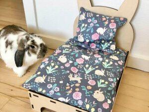 bed for rabbit flower
