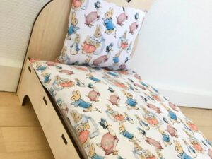 bed for rabbit peter rabbit
