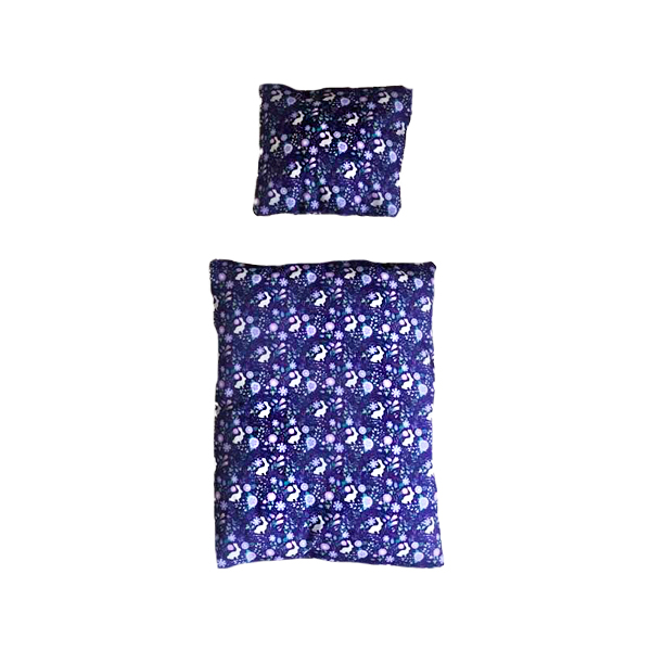 bedding for rabbit bed purple with rabbits