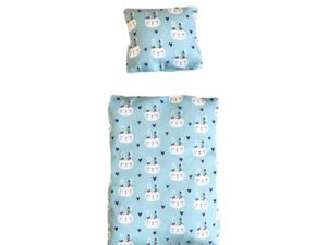 bedding for rabbit bed light blue Indian rabbits