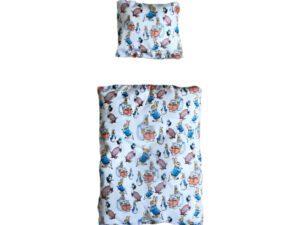 rabbit bed linen with peter rabbit