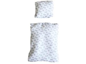 bedding for rabbit bed white with small rabbits