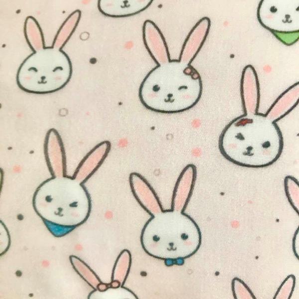 close to pink rabbit faces